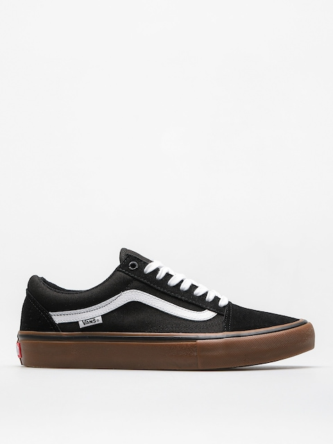 Boty Vans Old Skool Pro (black/white/medium/gum)