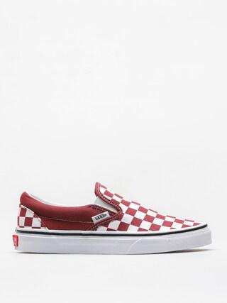 Boty Vans Classic Slip On (checkerboard/apple/butter/true/white)