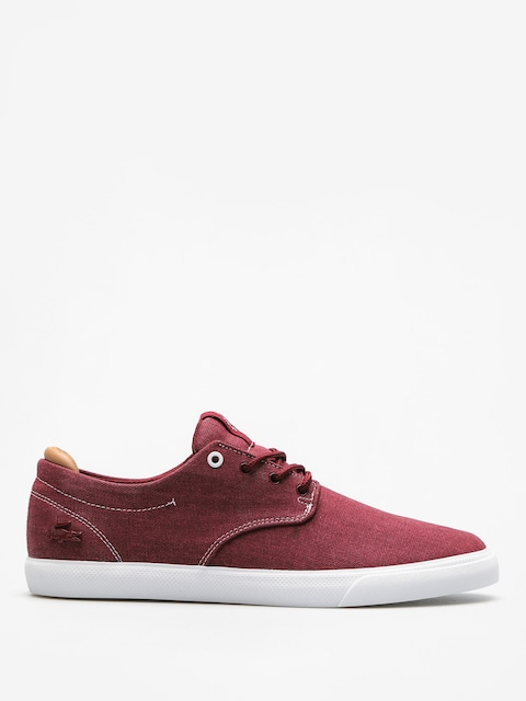 Boty Lacoste Esparre 118 2 (dark red/light tan)