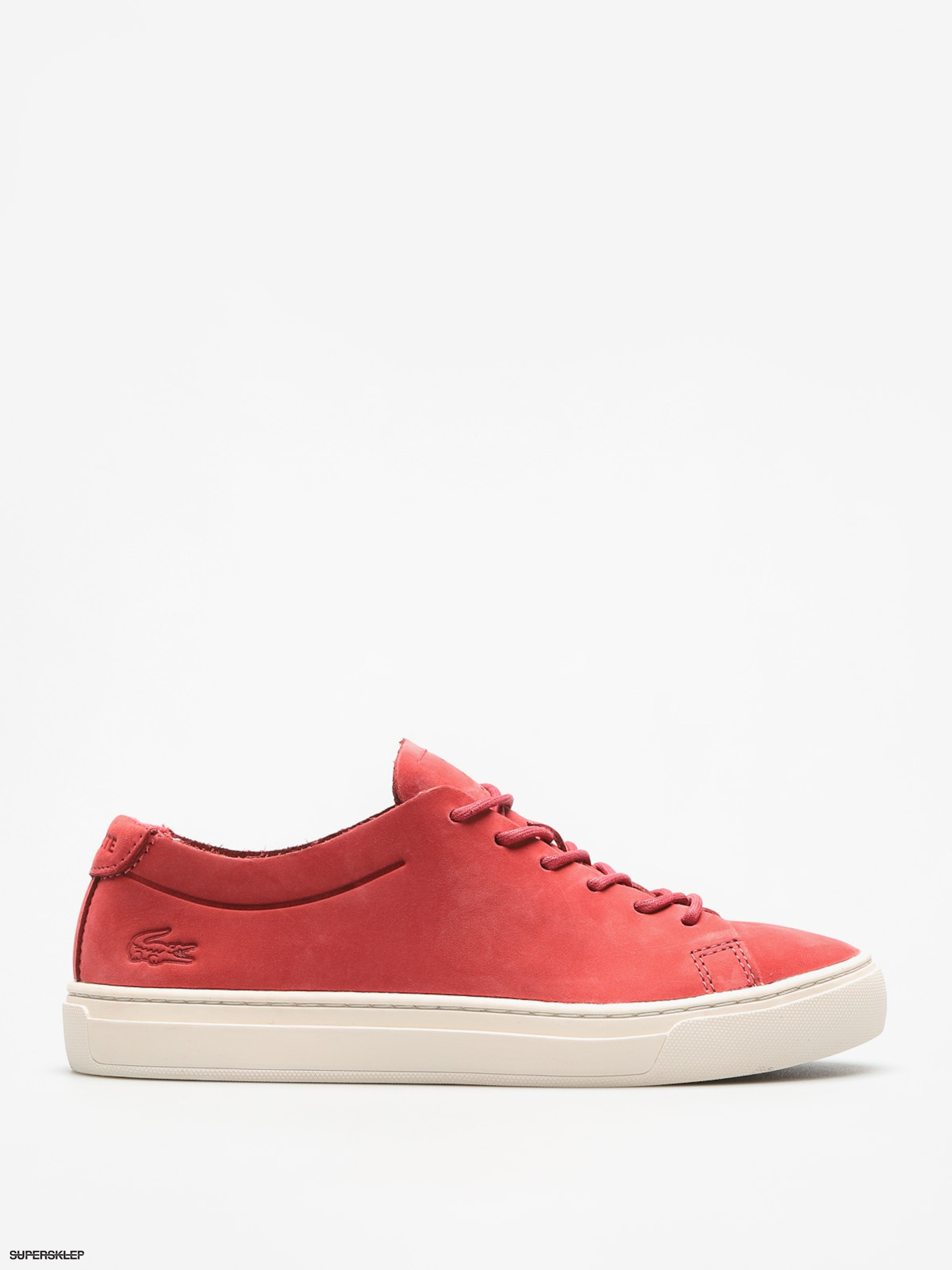 Boty Lacoste L 12 12 Unlined 118 3 Wmn (red off white) 6d138bb61d