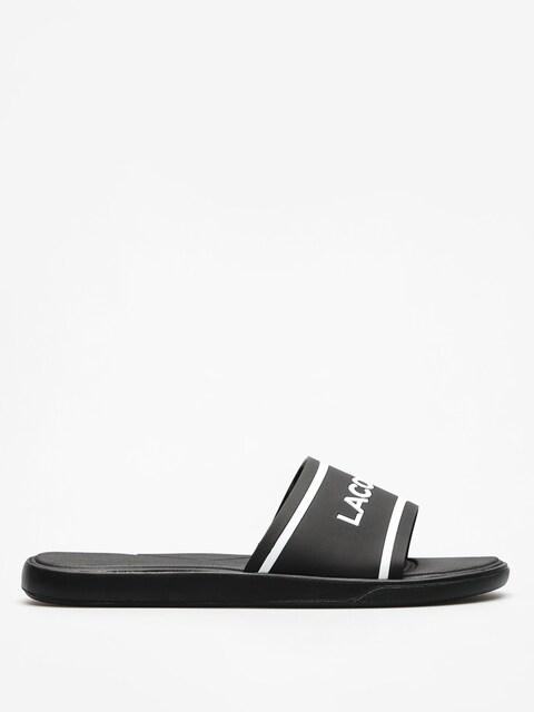Plážovky Lacoste L 30 Slide 118 2 (black/white)