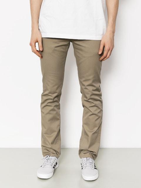 Kr3w Kalhoty K Slim Chino (dark khaki)