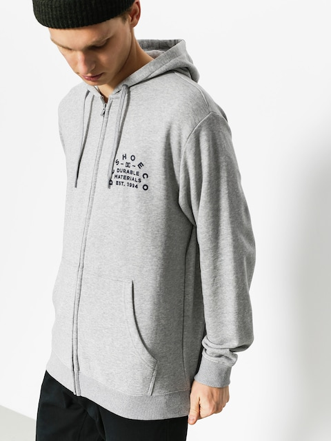 Mikina s kapucí DC Durable Timer ZHD (grey heather)