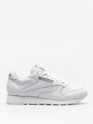 Boty Reebok Cl Leather Wmn (white/carbon/red)