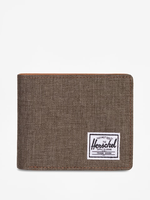 Peněženka Herschel Supply Co. Hank Rfid (canteen crosshatch/tan synthetic leather)