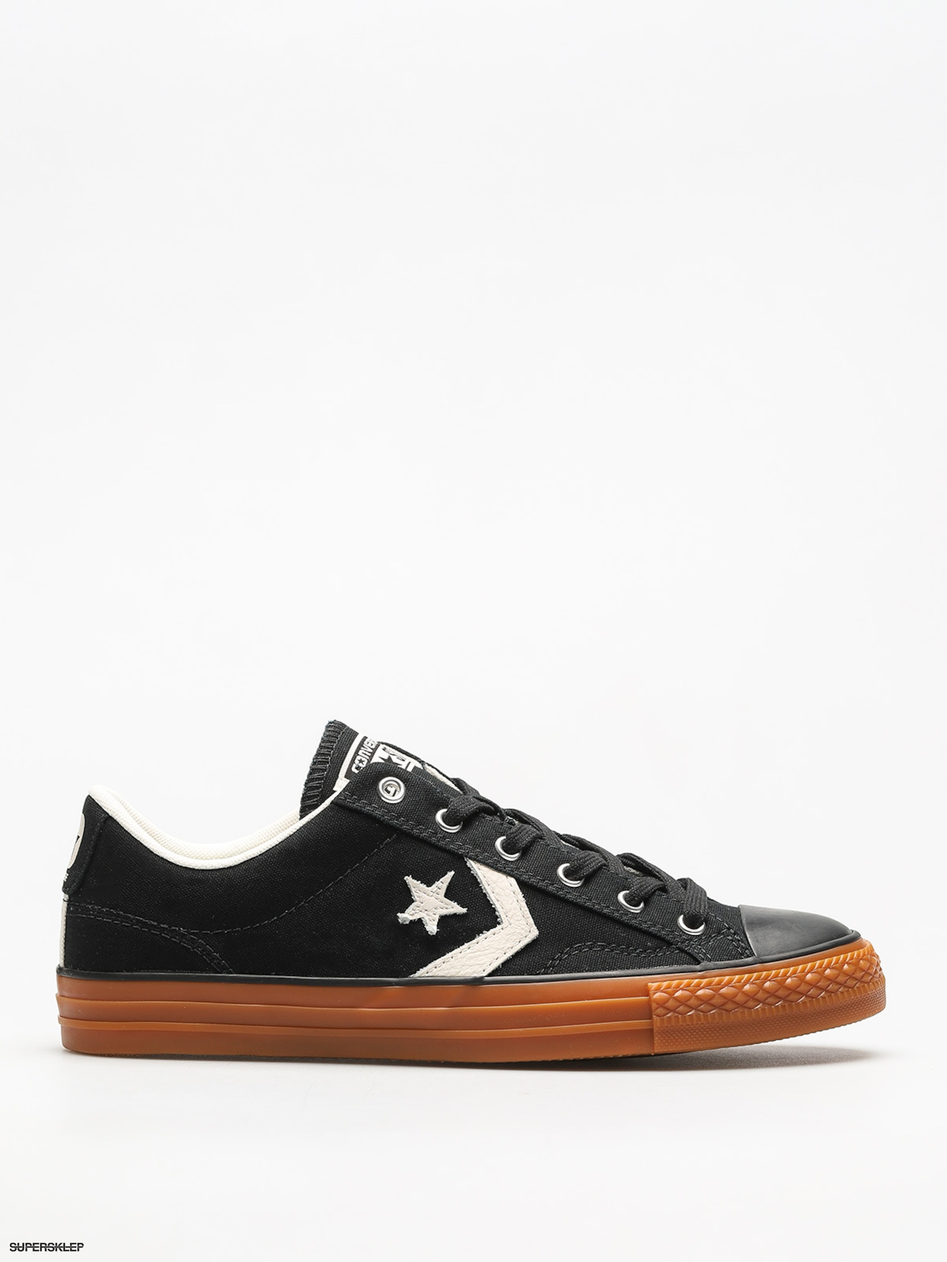 Tenisky Converse Star Player Ox (black/egret/honey)