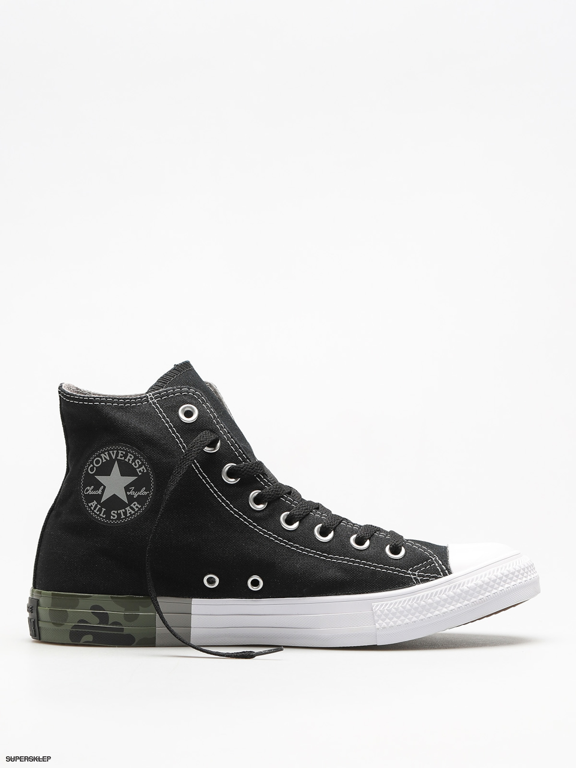 Tenisky Converse Chuck Taylor All Star Hi (black dolphin white) e831be5e09