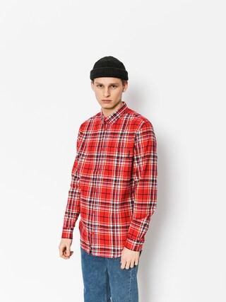 Košile DC South Ferry Ls (tango red)