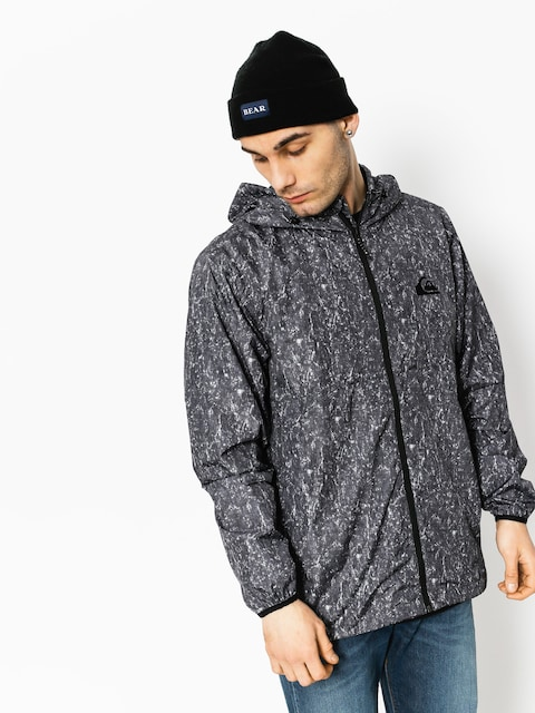 Bunda Quiksilver Everyday Windbreaker (tarmac acid print)