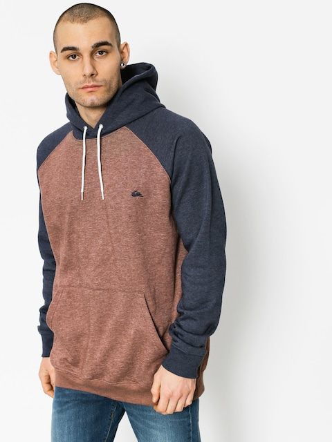 Mikina s kapucí Quiksilver Everyday HD (marron heather)