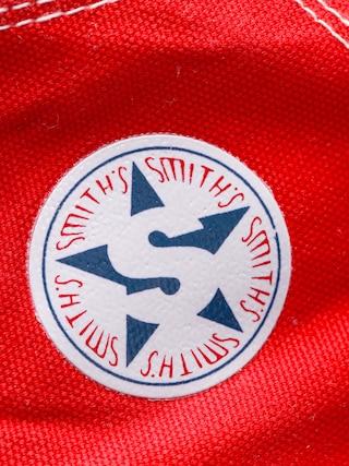Boty Smith's Wys  Mas 004 (red)