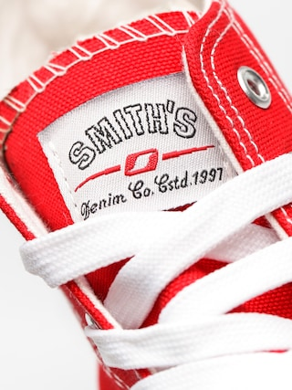 Boty Smith's Wys  Mas 004 (red)