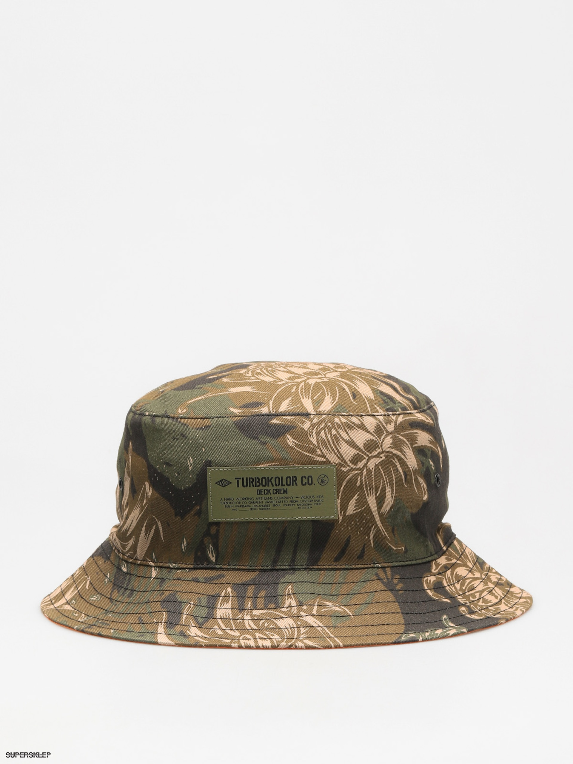 Klobouk Turbokolor Bucket (camo)