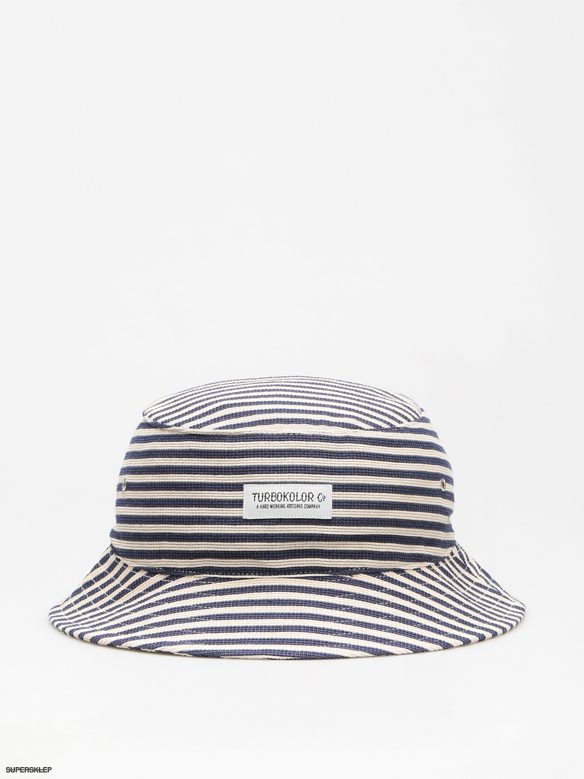 Klobouk Turbokolor Bucket (stripes)