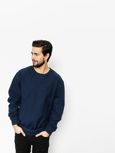 Mikina Stussy Stock LS Terry (navy)