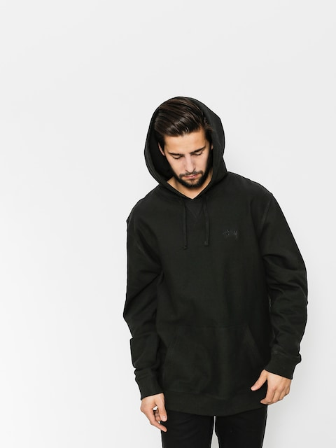 Mikina s kapucí Stussy Stock Terry HD (black)