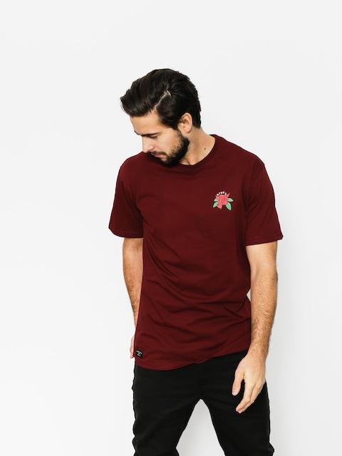 Tričko Nervous Rose (maroon)