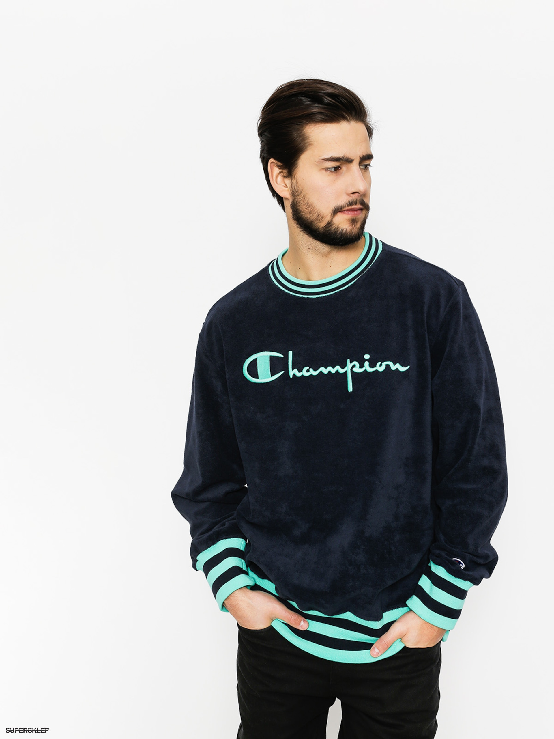 Mikina Champion Crewneck Sweatshirt (nny/fly)