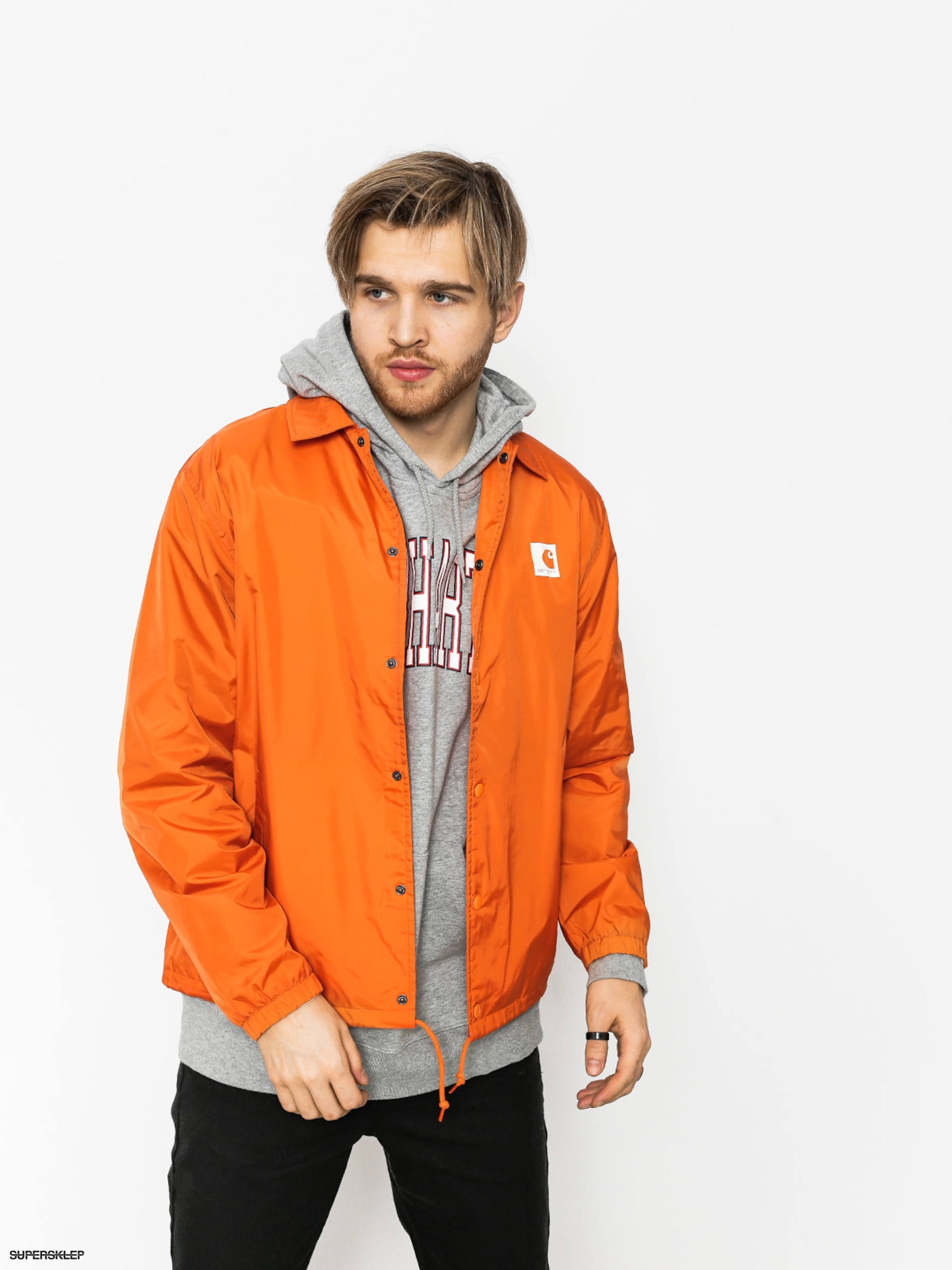 Bunda Carhartt Sports Coach (jaffa/wax)