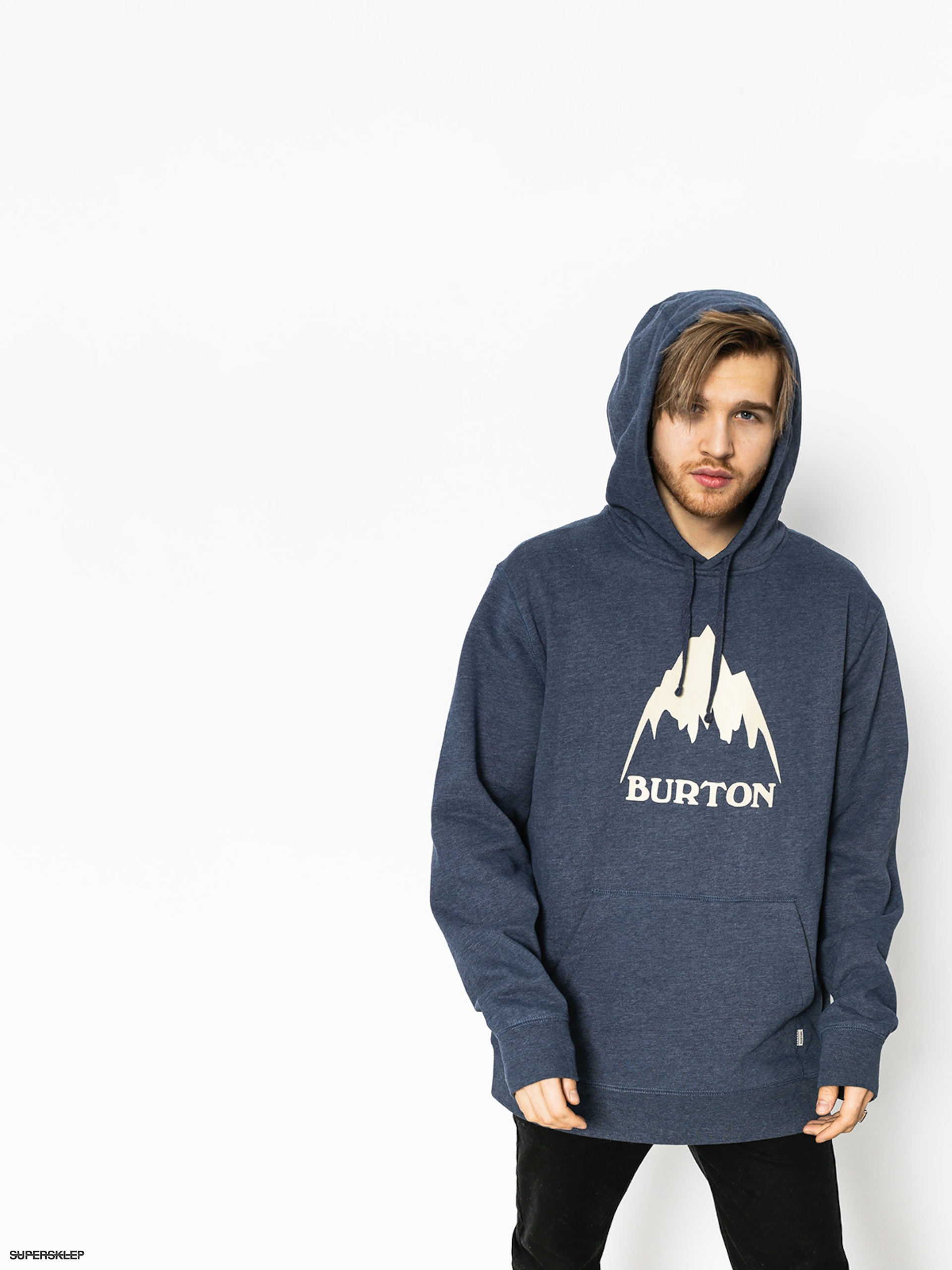 Mikina s kapucí Burton Clssmtnhgh HD (mood indigo heather)