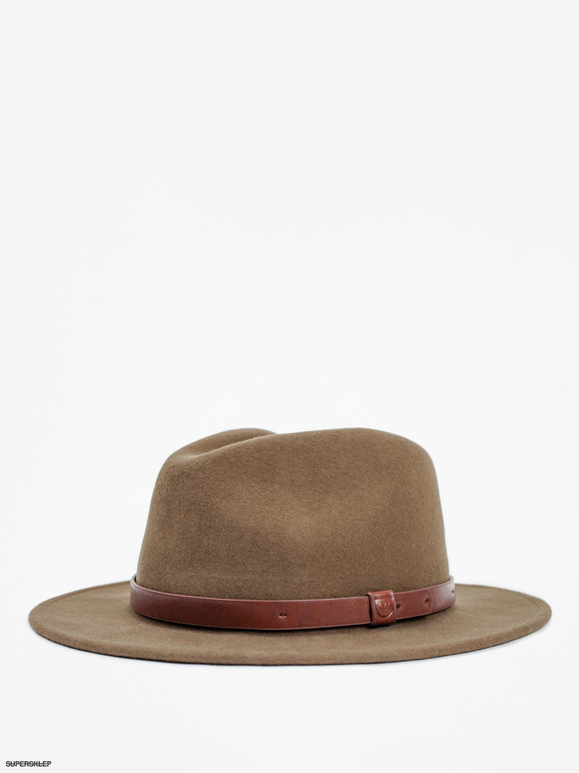 Klobouk Brixton Messer Fedora (light olive)