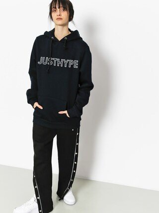 Mikina s kapucí Hype Embroidered HD Wmn (navy/white)