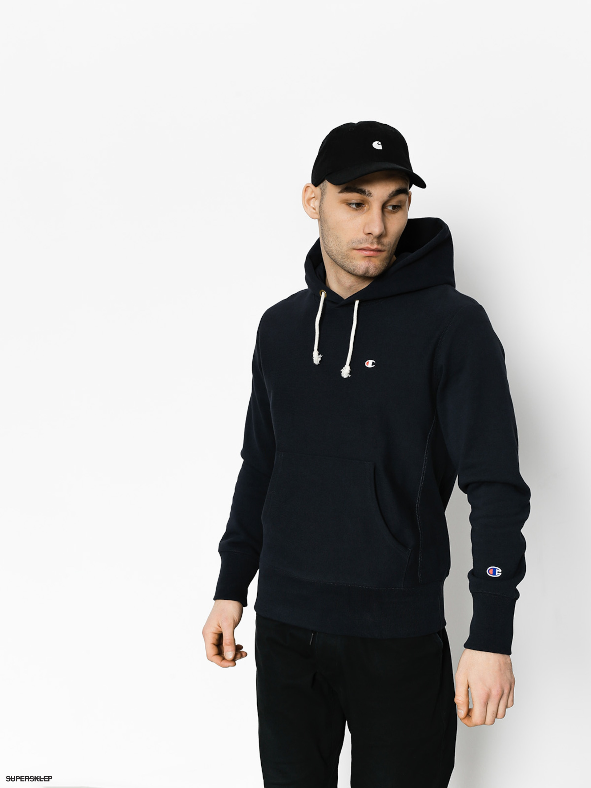 Mikina s kapucí Champion Reverse Weave Hooded Sweatshirt HD (nny)