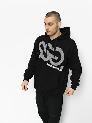 Mikina s kapucí SSG Dots HD (black)