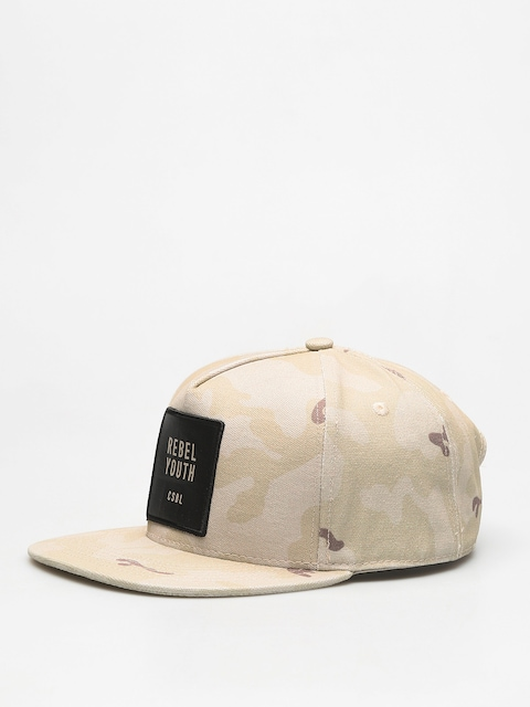 Kšiltovka  Cayler & Sons Csbl Rebel Youth ZD (desert camo/black)