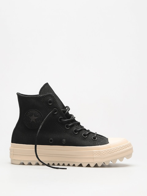 Tenisky Converse Chuck Taylor As Lift Ripple Hi Wmn (black/black/natural)