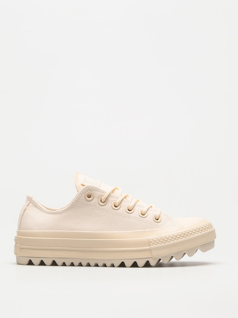 Tenisky Converse Chuck Taylor As Lift Ripple Ox Wmn (natural/natural/natural)