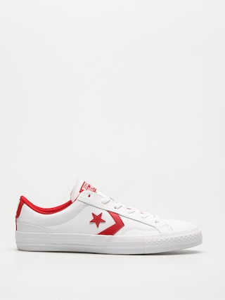 Tenisky Converse Star Player Ox (white/enamel red/white)