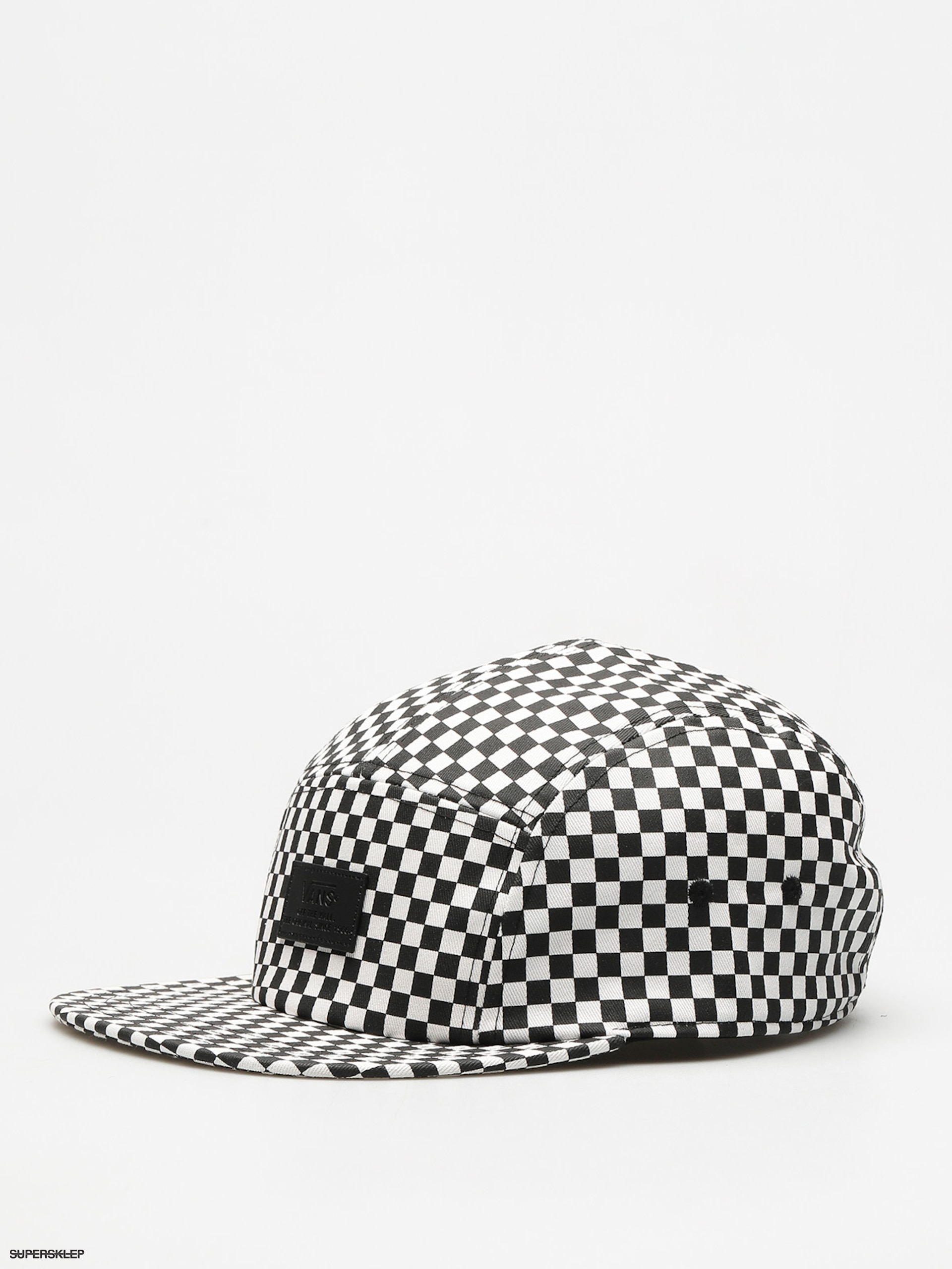 Kšiltovka Vans Davis 5 Panel ZD (black white/check)