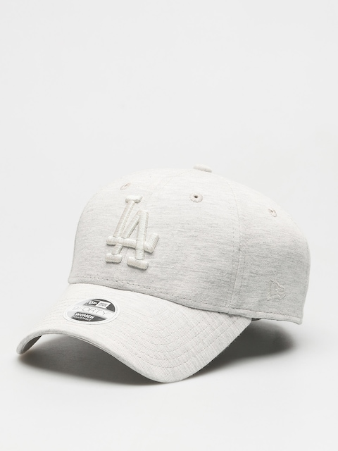 Kšiltovka  New Era Essential Jrsy 940 Los Angeles Dodgers ZD Wmn (light grey heather)