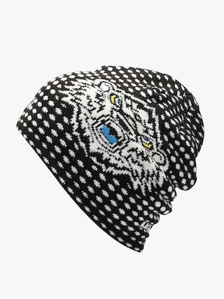 Čepice Level Worldcup Beanie (black white)