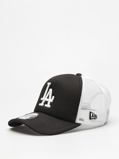 Kšiltovka New Era Clean Trucker Los Angeles Dodgers ZD (black)