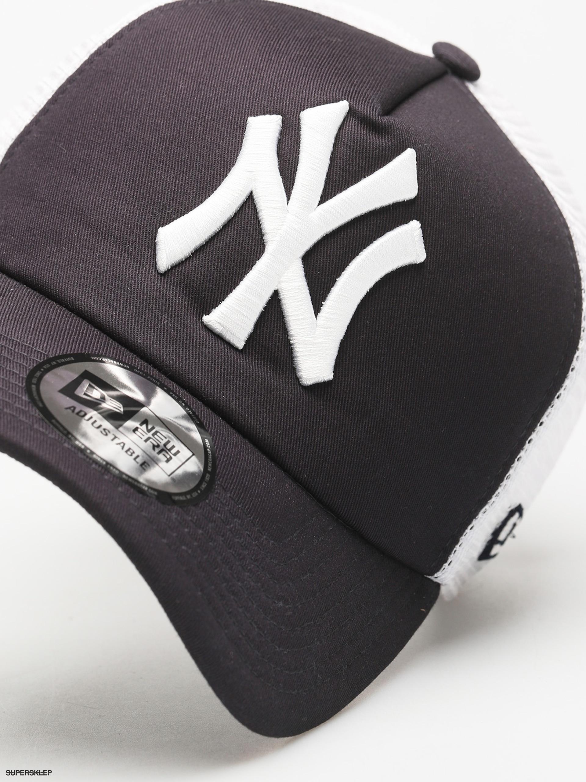 3620360283e Kšiltovka New Era Clean Trucker New York Yankees ZD (navy)