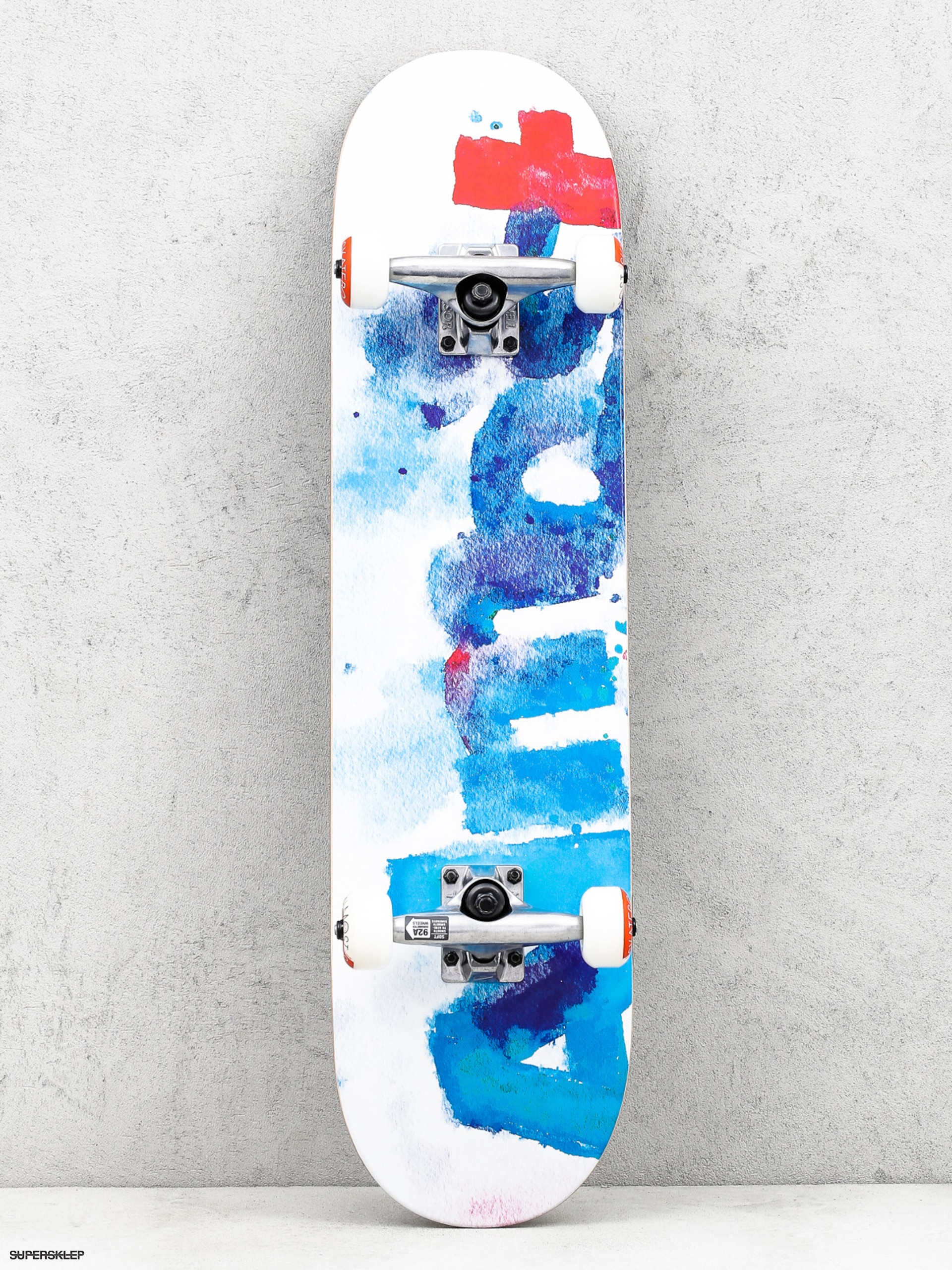 Skateboard Almost Color Bleed (white)