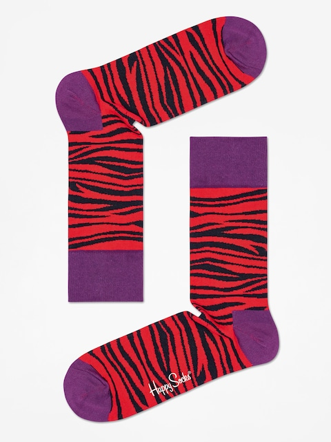 Ponožky Happy Socks Zebra (red/black)