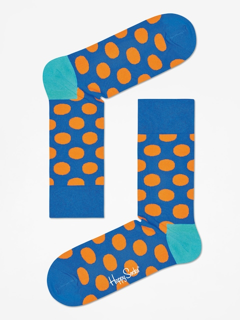 Ponožky Happy Socks Big Dot (blue/oragne)