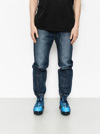 Kalhoty MassDnm Joggers Signature (dark blue)
