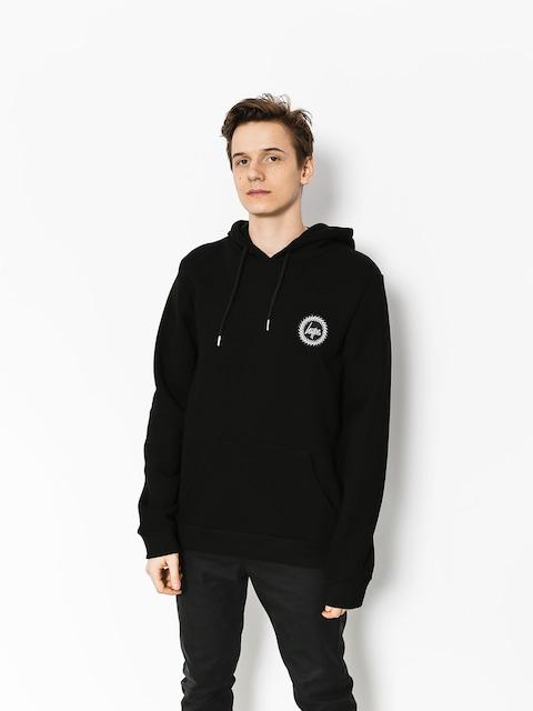 Mikina s kapucí Hype Crest HD (black)