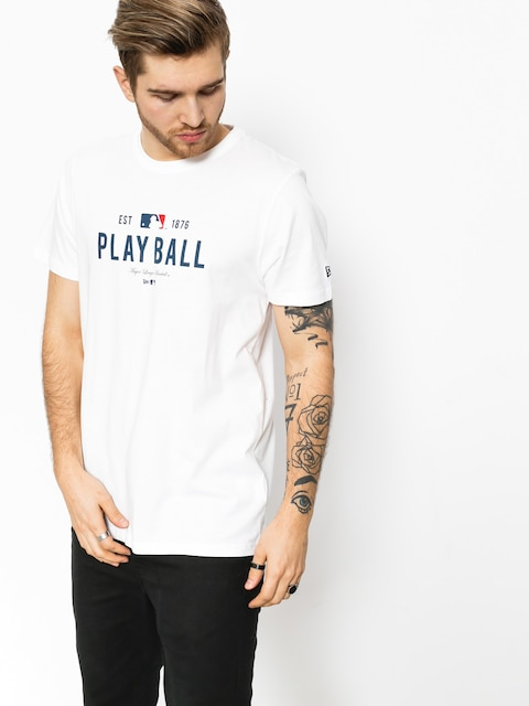 Tričko New Era MLB Slogan (white)