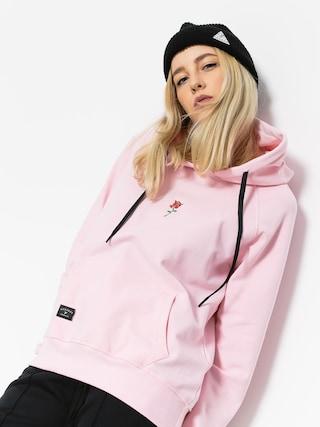 Mikina s kapucí Nervous Rose HD Wmn (pink)
