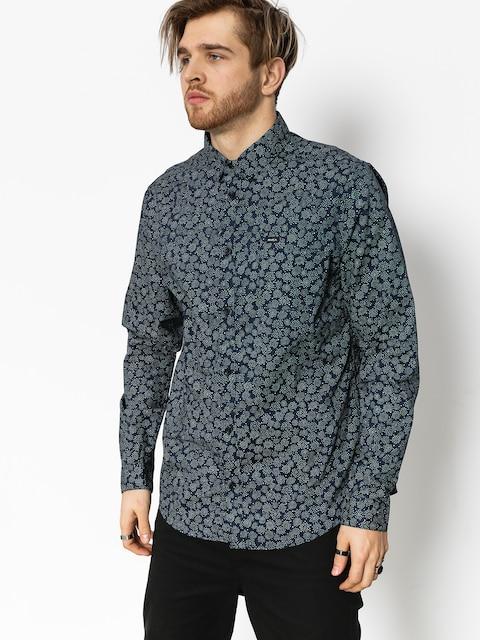 Košile RVCA Cleta (classic indigo)