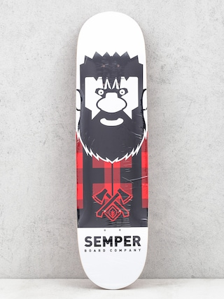 Skateboards Semper Deska Lumberjack (red)