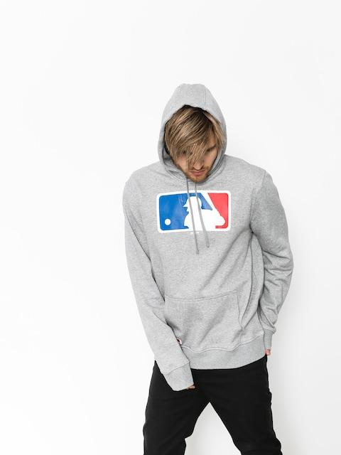 Mikina s kapucí New Era Nos MLB Logo HD (grey heather)