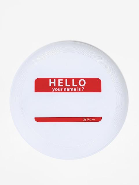 Frisbee Brixton Hello Disc (white)