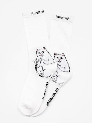 Ponožky RipNDip Lord Nermal (white)