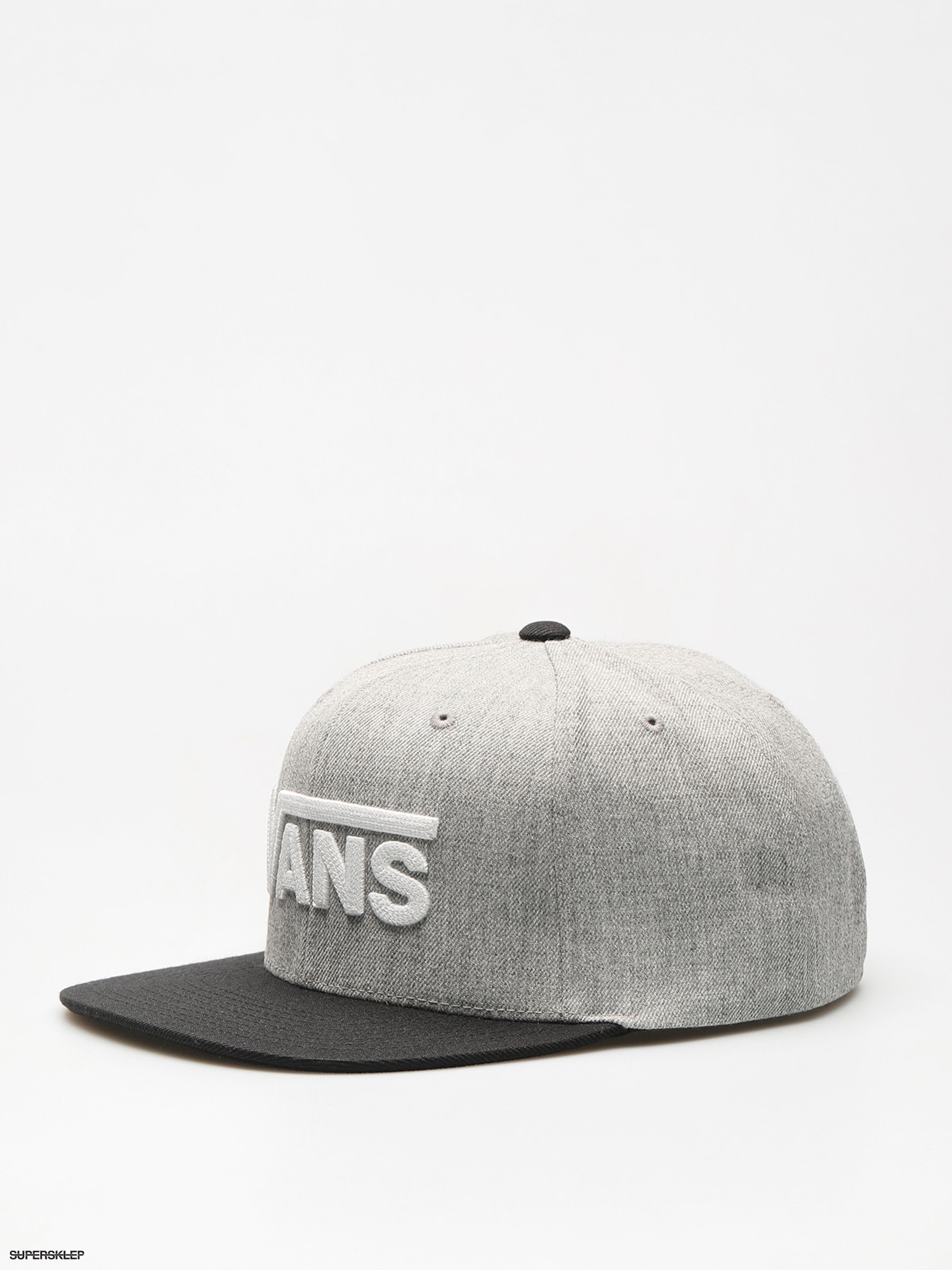 Kšiltovka  Vans Drop V II Snapback ZD (heather/grey)